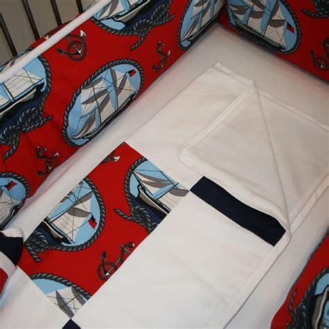 sailboat crib bedding ships ahoy sailboat crib bedding