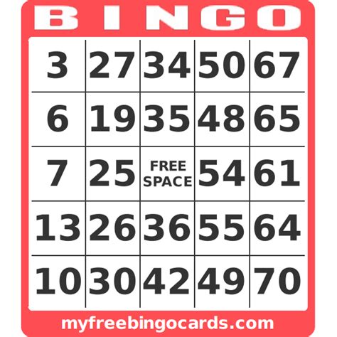 make a bingo card free free custom bingo card generator myfreebingocards