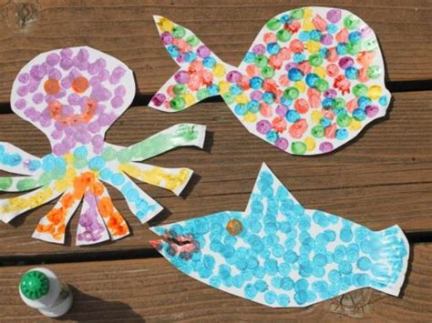 toddler craft projects various diy paper plate sea animals kidsomania