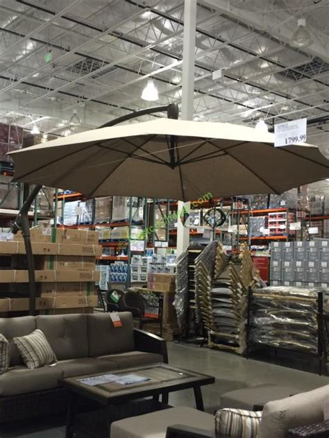 costco patio umbrellas offset patio umbrella costco canada modern patio outdoor