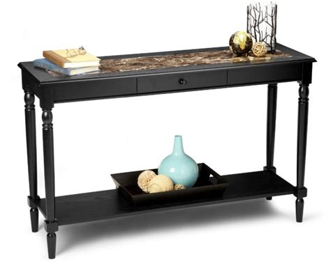 country style sofa table country black marble style console sofa table ebay