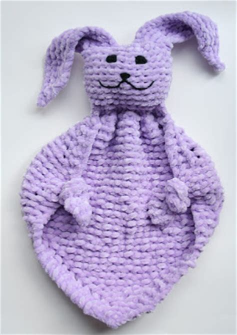 bunny blanket buddy knit pattern oiyi s crafts bunny blanket buddies