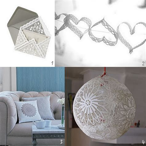 craft lace projects diy lace and doilies s day crafts or diy