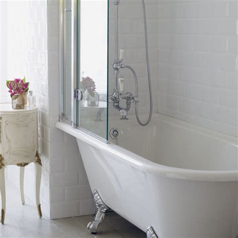 roll top bath and shower burlington hton showering bath