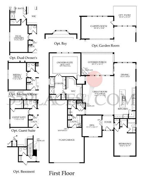 washington floor plan washington floorplan 2274 sq ft edgewater 55places