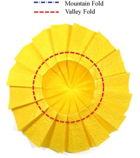 origami sunflower step by step how to make an origami sunflower page 6