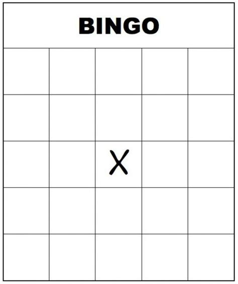 how to make your own bingo cards with pictures 7 best images of large printable blank bingo card free