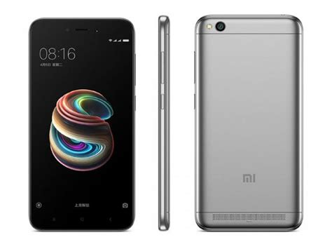 xiaomi 5a xiaomi redmi 5a price specifications features comparison