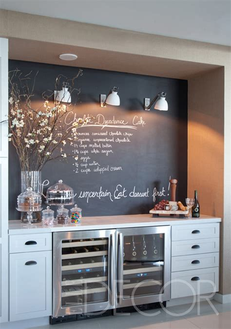 chalkboard paint ideas for bar twoinspiredesign two friends two design perspectives