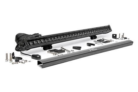 30 cree led light bar 30 inch single row cree led black series light bar