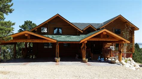 Custom Carports by Carports Porches Handcrafted Log Homes
