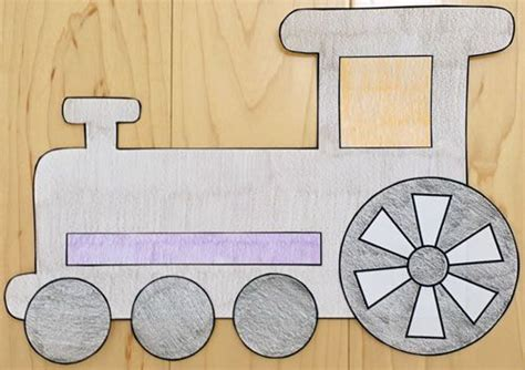 paper pasting craft paper craft cars and trucks for