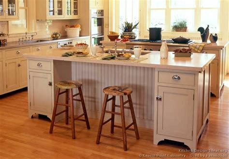 kitchen cabinet islands designs pictures of kitchens traditional white antique