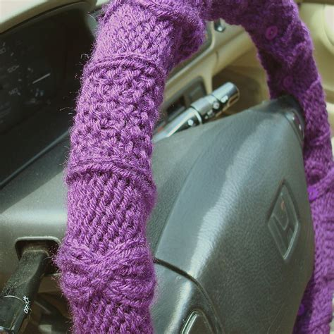 knit cover knit steering wheel cover knithacker
