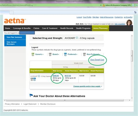 Hey Feds! Price Shopping for Rx Meds? Don't ask Aetna ... Aetna Dental Login