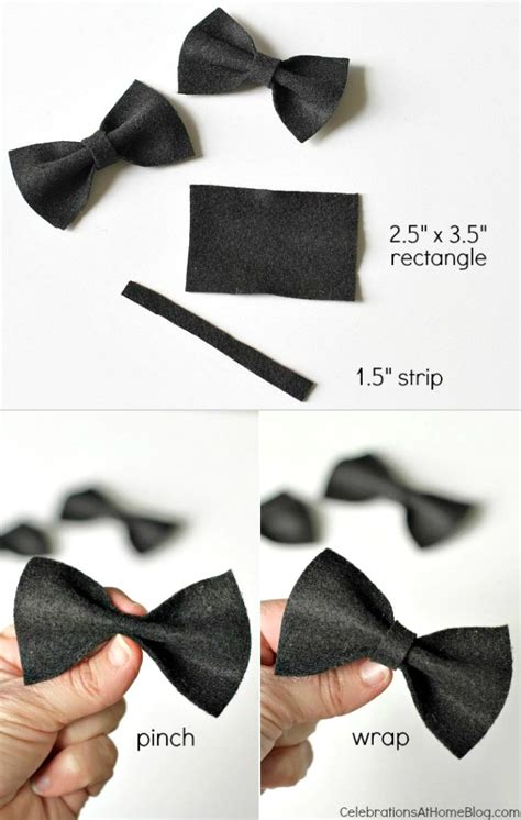 How To Do Birthday Decoration At Home diy mini bow ties to dress up the party celebrations
