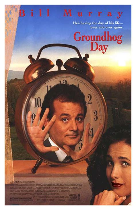 groundhog day poster groundhog day posters at poster warehouse