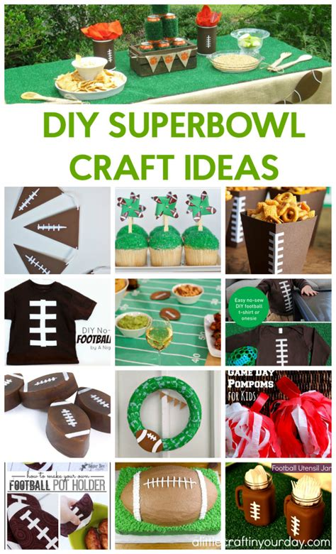 superbowl crafts for diy bowl crafts a craft in your day