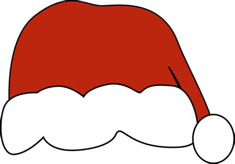 large santa hats big santa hat clip big santa hat image