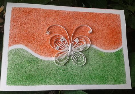 how to make independence day card reusing cards quilling happy independence day