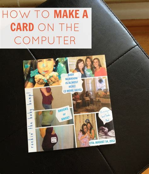 How To Make A Card On The Computer Using Picmonkey
