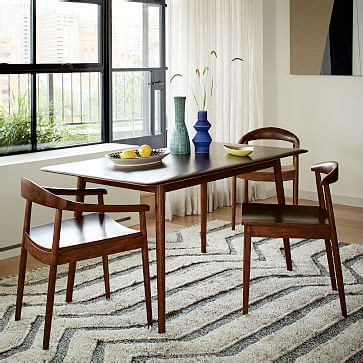 mid century dining tables modern dining table west elm