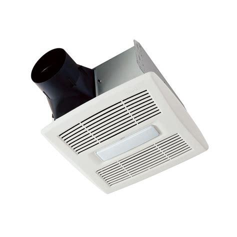 bathroom ceiling fan with light broan invent series 110 cfm ceiling bathroom exhaust fan