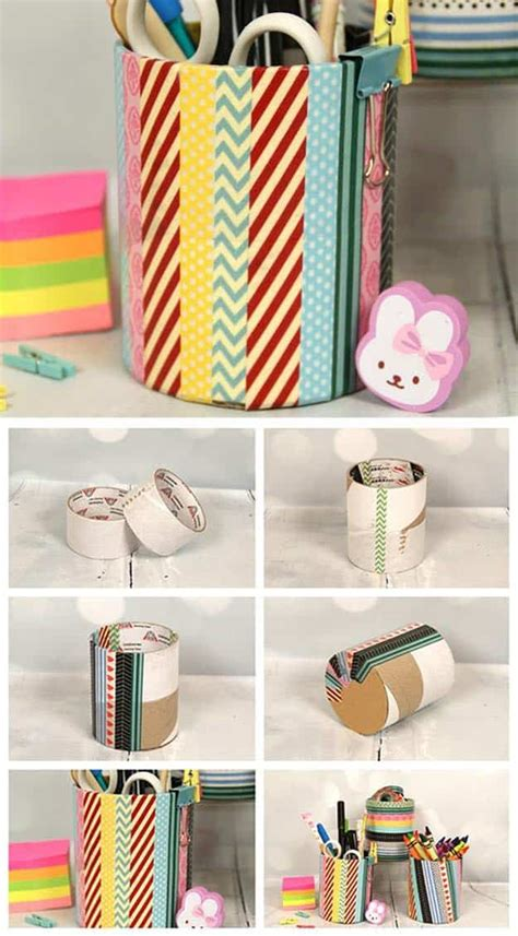 washi craft projects 100 washi ideas to style and personalize your items