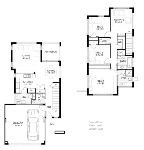 small 3 story house plans 3 bedroom 2 storey house plans 3 story house plans narrow lot small lot 3 story house