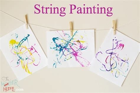 string crafts for string painting craft projects