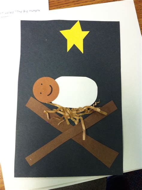 baby jesus craft for baby jesus craft ideas