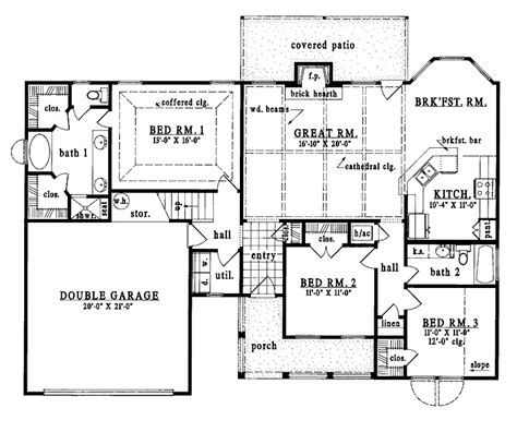 1 story country house plans one story house plans one story country house plans one