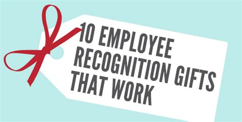 employee gifts ideas 10 employee recognition gifts that work