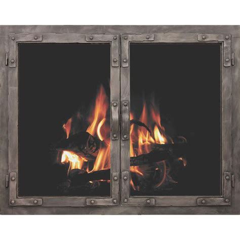 fireplace glass fireplace doors by stoll