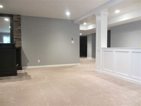 paint colors for basement walls basement renovation contemporary basement vancouver