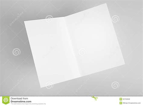 how to make open when cards blank open card royalty free stock image image 32753556