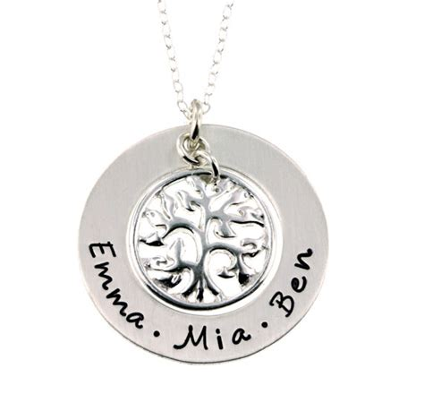 how to make engraved jewelry aliexpress buy custom engraved names family tree
