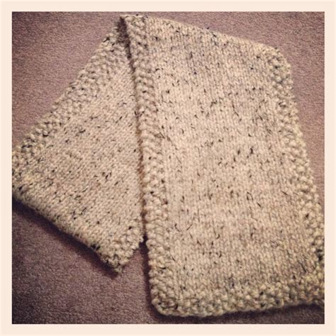 knitting moss stitch scarf knit scarf with moss stitch border crafty