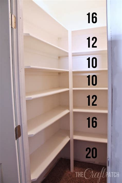 kitchen closet pantry ideas the craft patch how to build pantry shelves