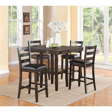 dining room counter height sets tahoe mango 5 counter height dining set