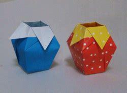 easy origami vase origami paper vase