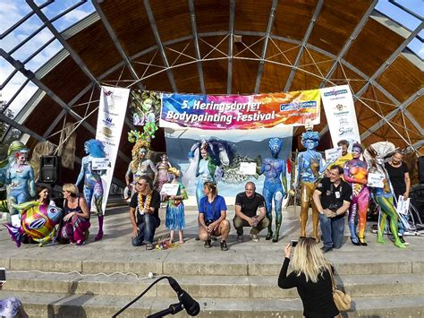 festival de painting la plata galerie heringsdorfer bodypainting festival