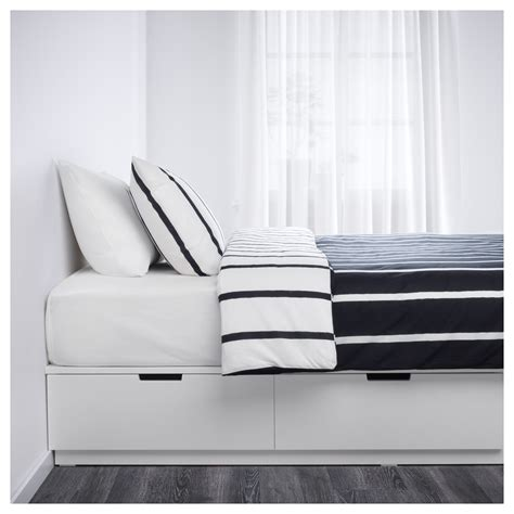 ikea storage bed nordli bed frame with storage white 140x200 cm ikea