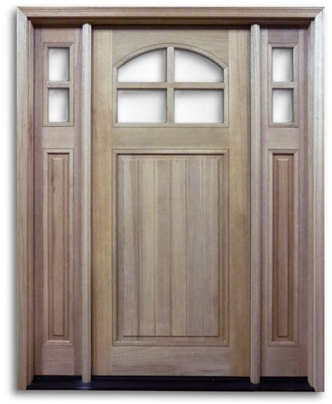 hung exterior doors htc40 pre hung 4 lite mahogany exterior door with 2