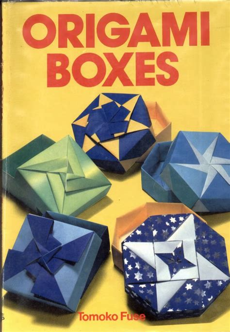 tomoko fuse origami origami boxes tomoko fuse book