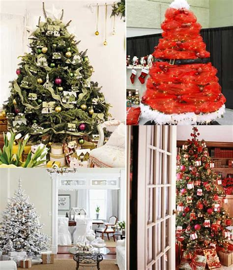 Classic Color Schemes 25 beautiful christmas tree decorating ideas