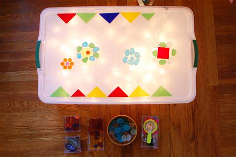 make lights easy low cost light table tinkerlab