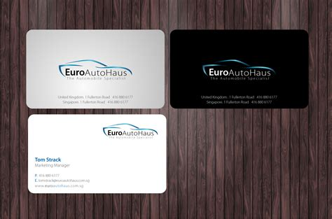 make name cards serious professional business card design for muhammad