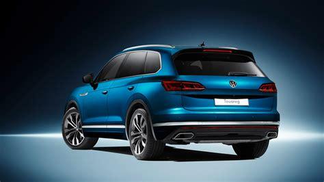 Volkswagen New new vw touareg techy flagship suv revealed in beijing