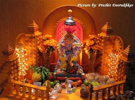 home decoration for ganesh festival 17 best images about ganesh decoration 2015 on